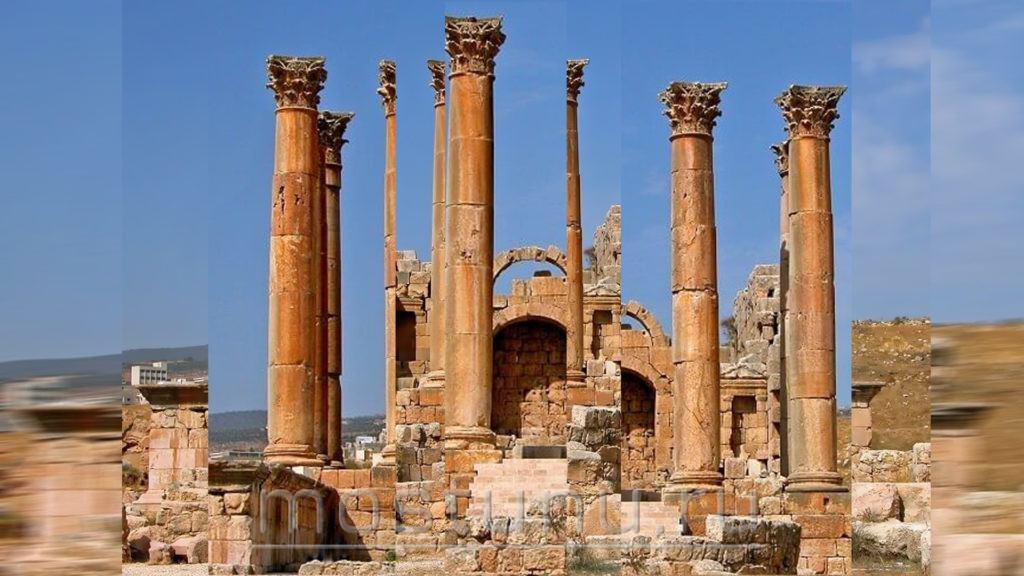 Храм Артемиды развалины
