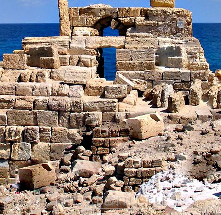 Руины Александрийского маяка