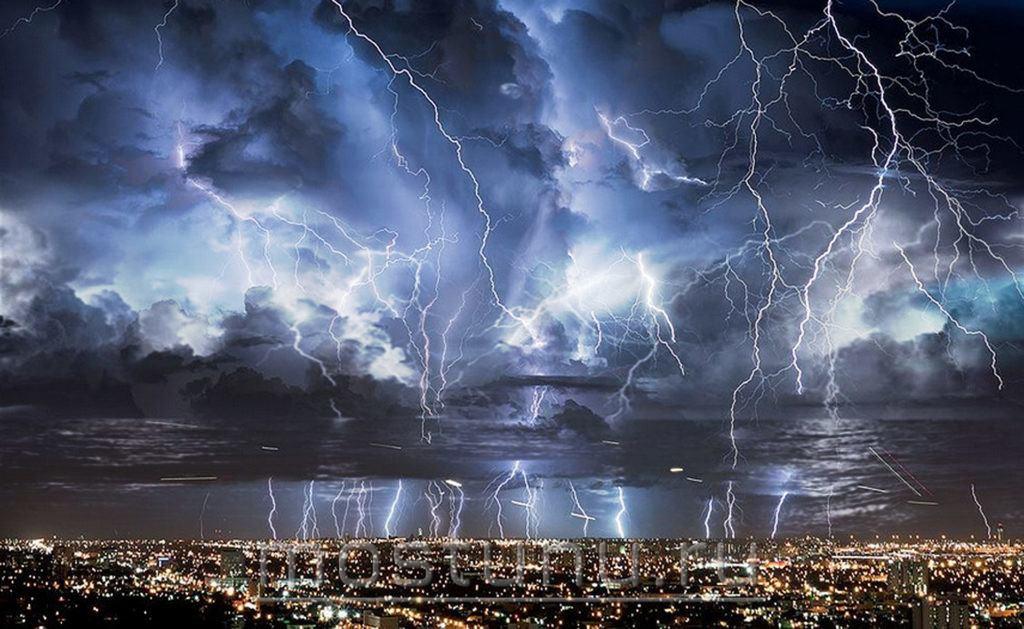 фото молнии венесуэла первых