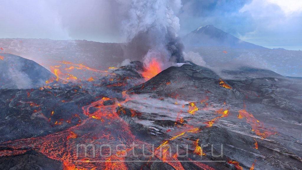 Цепь вулканов