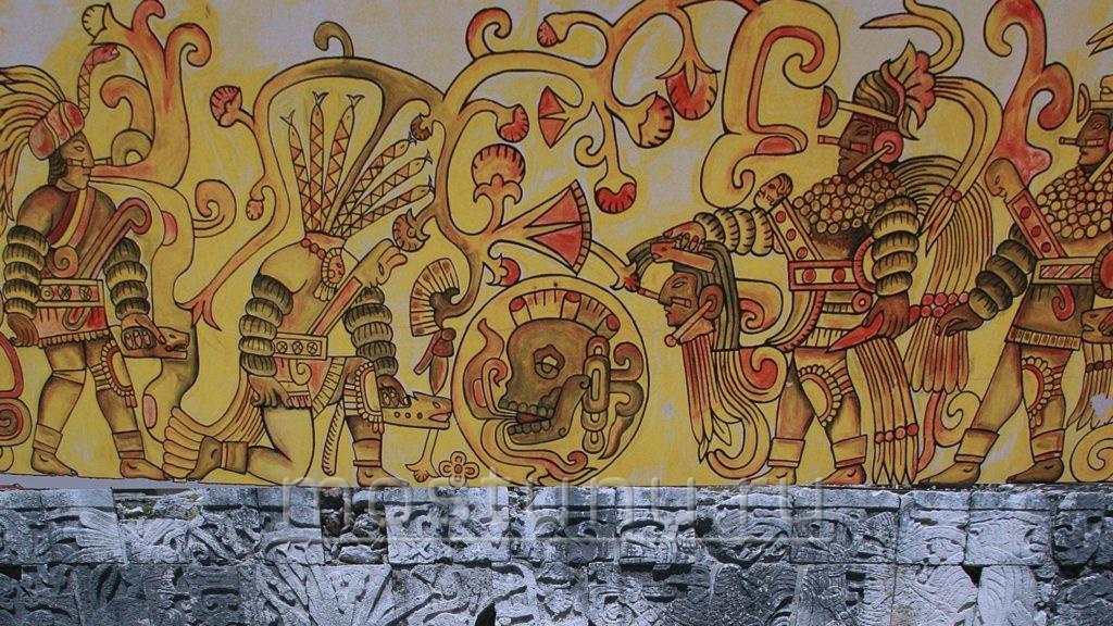 Фрески майя с