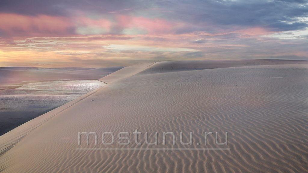 Дюны и лагуны Ленсойс