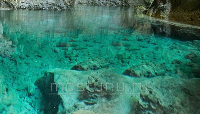 Озеро Голубые воды