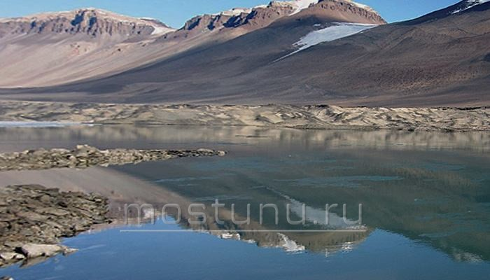 Теплое озеро Ванда