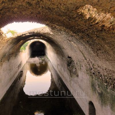 Подземный тунель акаведука