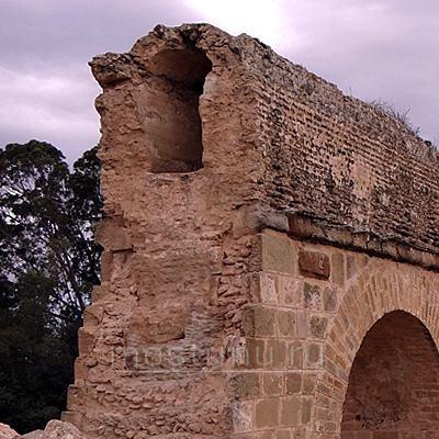 Внутренняя конструкция акведука