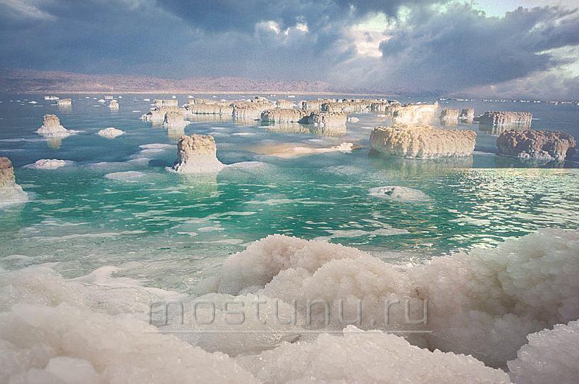 Соленые структуры мертвого моря