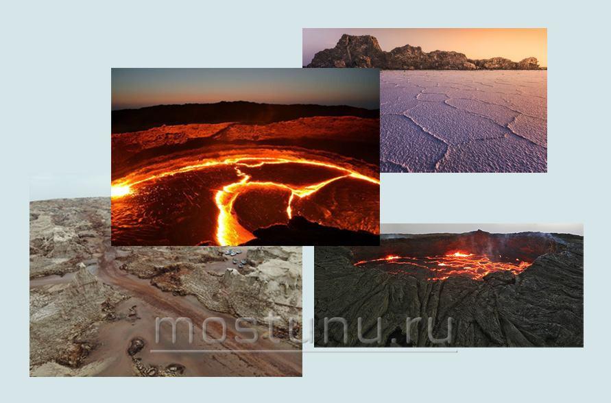 Лавовое озера вулкана Эрта Але